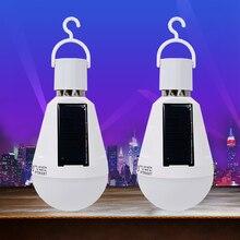 FAKEDA LED Solar Light Emergency Light Bulb Rechargeable LED lamp Panels Lamp Environmental Protection Rechargeable Light Bulb