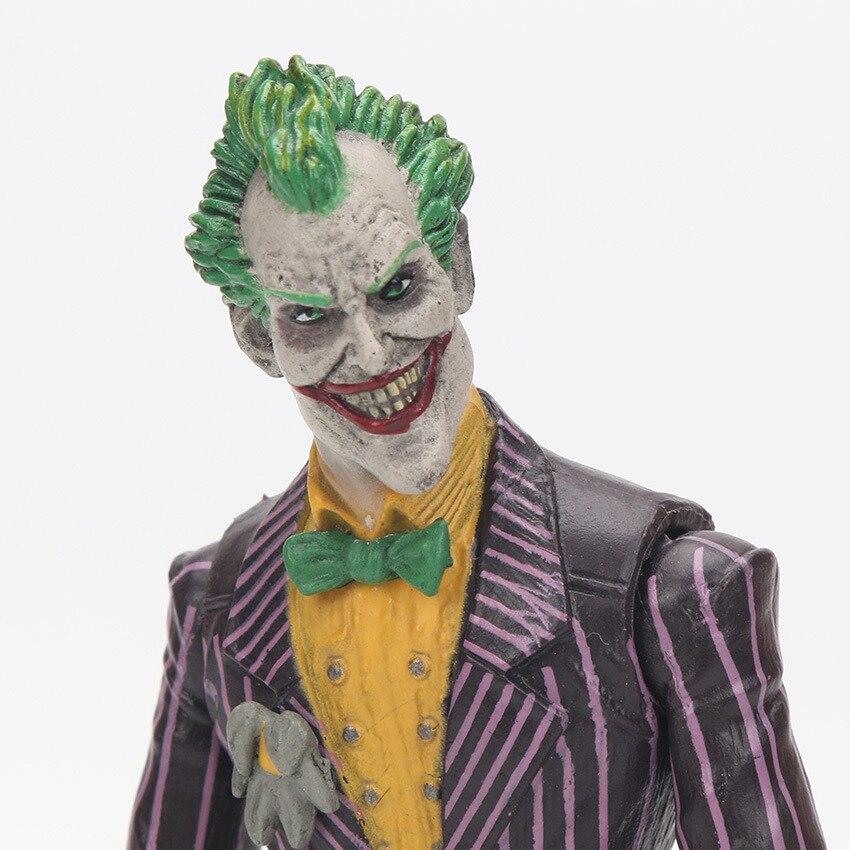 18cm DC Batman The Joker VC Action Figure Collectible Model Toy 7″