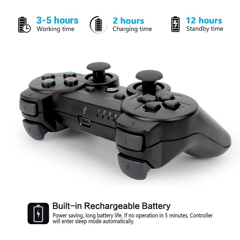lowest price For SONY PS3 Controller Bluetooth Wireless Gamepad for Play Station 3 Joystick Console for Dualshock 3 SIXAXIS Controle For PC