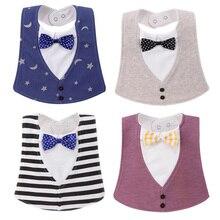 3 חתיכה bavoir bandana איכות התינוק ילד הנערה מגבת מגבת רוק לילדים ילדים קריקטורה תבנית בגדים רוק הרוק