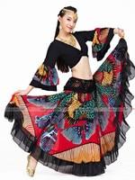 High Quality Women Sexy Belly Dance Costume Skirts Belly Dancing Skirt Chiffon waist 65 106cm length 96cm