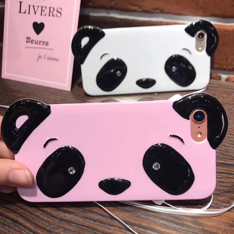 HTB1k5Z6RpXXXXXjXXXXq6xXFXXXh - Cute Cartoon 3D Chinese Panda Ears & Eyes Transparent Coque TPU Silicone Soft Clear Panda Phone Case For iPhone 6 6S 7 7 Plus PTC 286