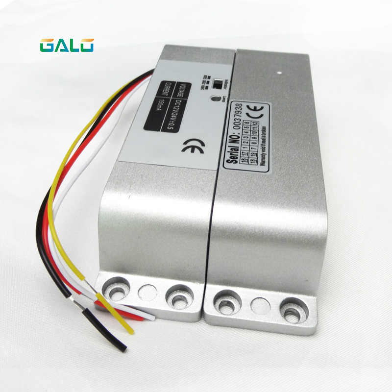 800kg 1800lbs 4 Line Electric Bolt Lock with Door State Detection Output Point and Timer Drop Bolt Lock Fail-safe Electric Lock