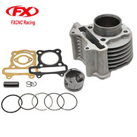 FX 50MM Cylinder Rebult Kit For GY6 100cc Moped Scooters TAOTAO ATV Motorcycle Cylinder