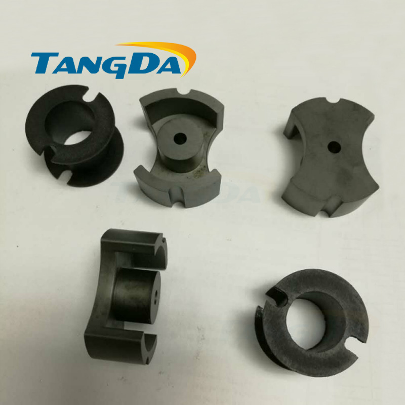 Tangda PM 74 Type PM74 P74 soft ferrite core magnetic core+ skeleton for transformer PC40 high frequency Switching power supply