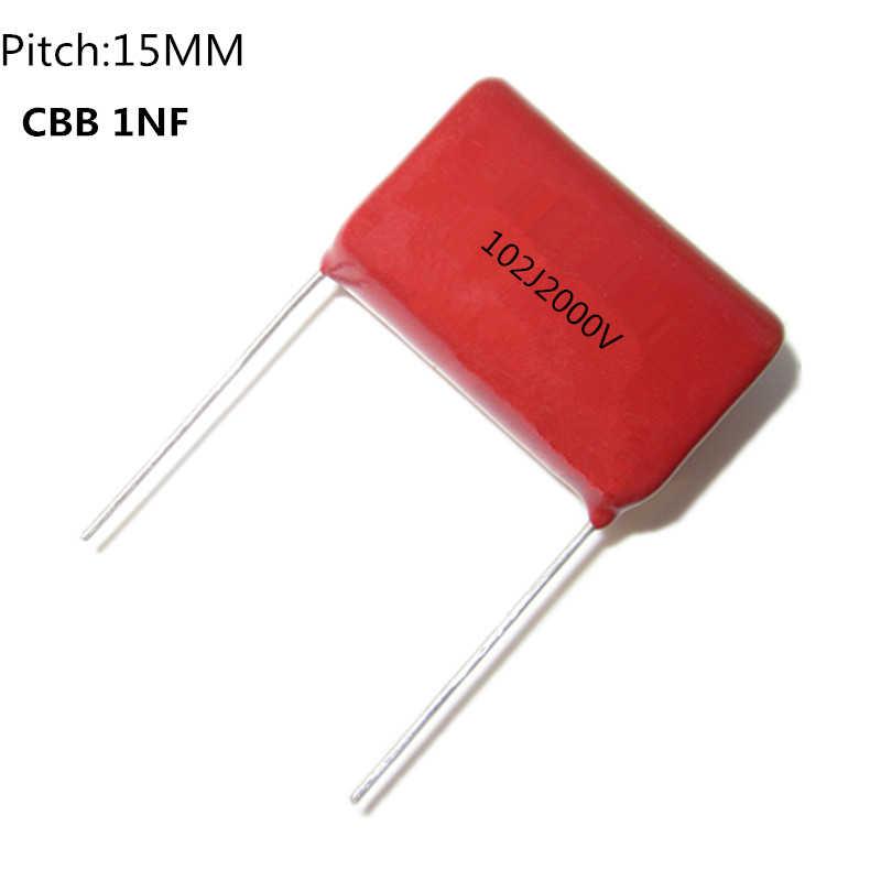 100pcs 0.001uf 1nf 1000pf 102 2000V High Voltage Ceramic Disc Capacitor