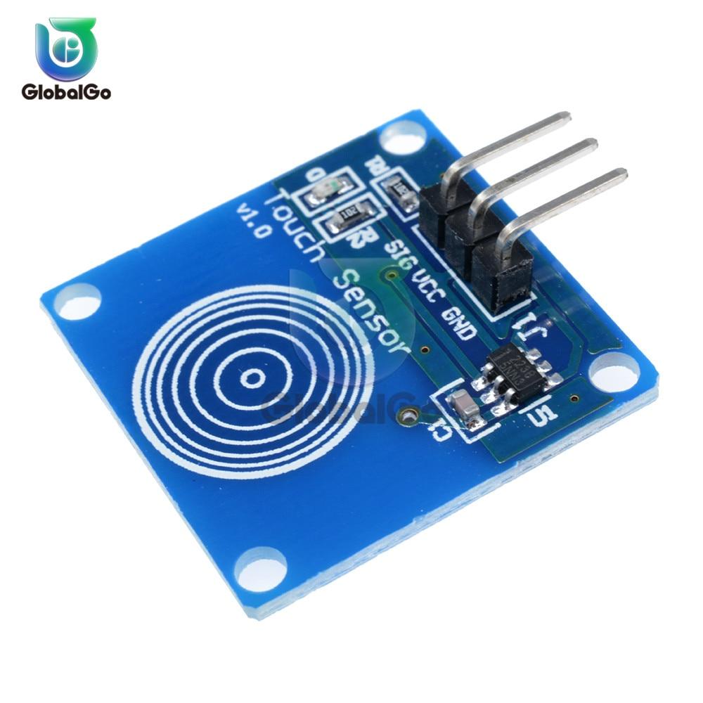 2 шт./лот сенсорный ключ переключатель модуль сенсорная кнопка емкостный сенсорный переключатель сенсорные модули TTP223B