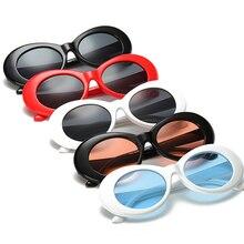 2017 Винтаж Дизайн Kurt Солнцезащитные очки для женщин модные Кобейн для Для мужчин/Для женщин зеркальные Очки Ретро женские/мужские Защита от солнца Очки UV400 очки