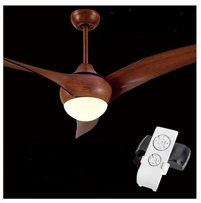 A1 LED Nordic antique fan lamp Pendant Lights with lamp fan of American modern dining room bedroom living room simple remote ZA modern simple european style dining room lighting american hollow carved iron bedroom pendant lights
