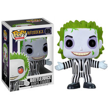 Funko Pop Anime Beetlejuice Collection Model Boy Toys Vinyl Movie Action Figures Kids For Children
