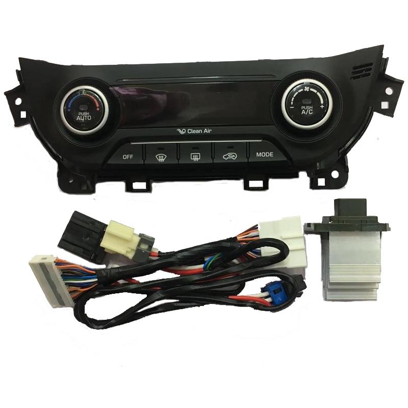 A set For Hyundai ix25 creta Heater Control AC Heater climate control switch Manual automatic air