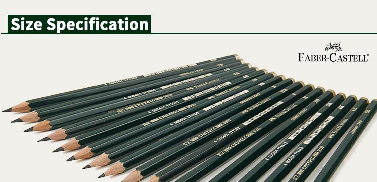 Kuusteist pliiatsit joonistamiseks