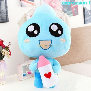 Fancytrader 24'' / 60cm Lovely Plush Giant Soft Stuffed Milk Bottle Doll Toy, 4 Expressions Available!Free Shipping  FT50303