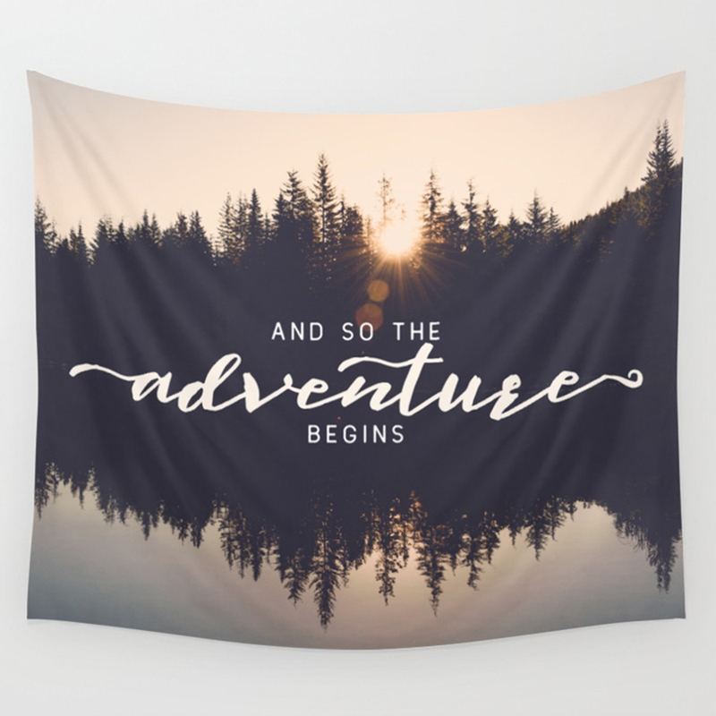 Adventure Awaits Tapestries 6