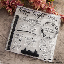 NCraft Clear Stamps N1044 Scrapbook Paper Craft Clear stamp scrapbooking Christmas