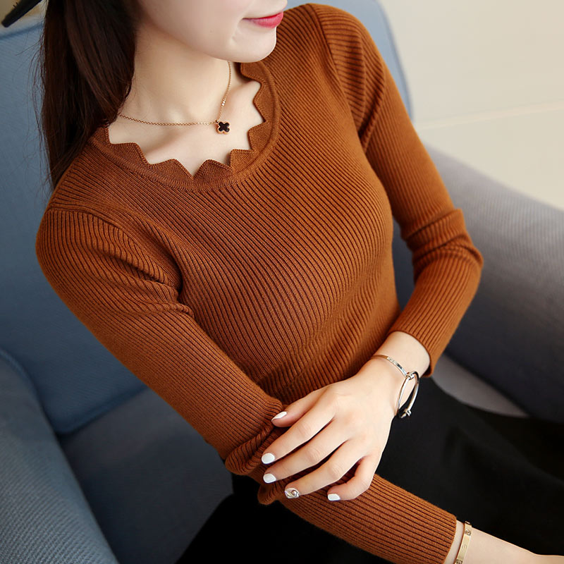 Knitted Jacket Sweater Female O-Neck Long-Sleeve Women's New Casual Tops High-Quality