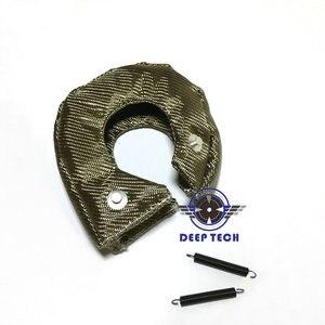 Image 2 - Titanium Turbo Blanket Heat Shield Cover T3 TurboCharger Lava Turbocharger Blanket Cover T04R TD07 TD08 GT35 GT45 TD04  GT25