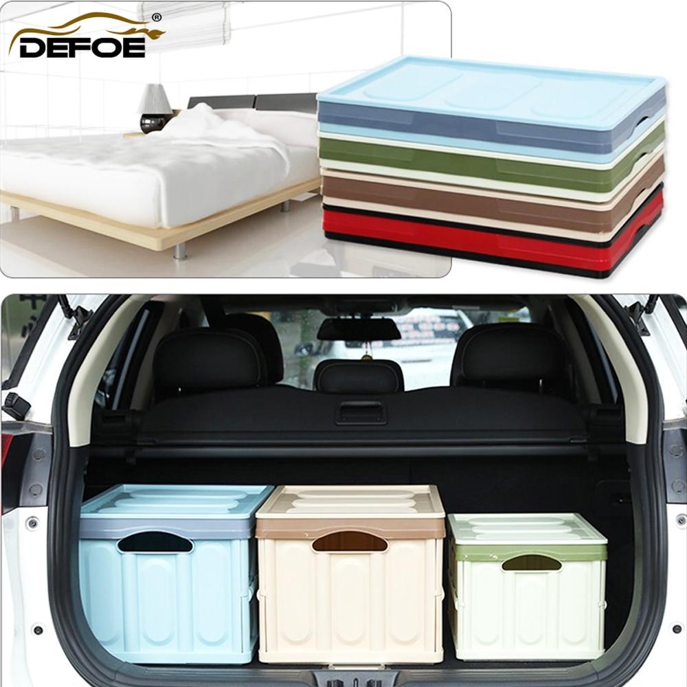 Car Organizer Car Trunk Storage Box Multi-function Folding Storage Box Trunk Box Bag Trunk Organizer Travel Freeshipping