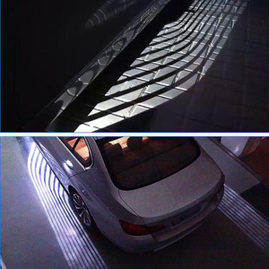 Image 4 - 2PCS Angel wing welcome lamp projection modified multifunctional versatile welcome carpet light wing
