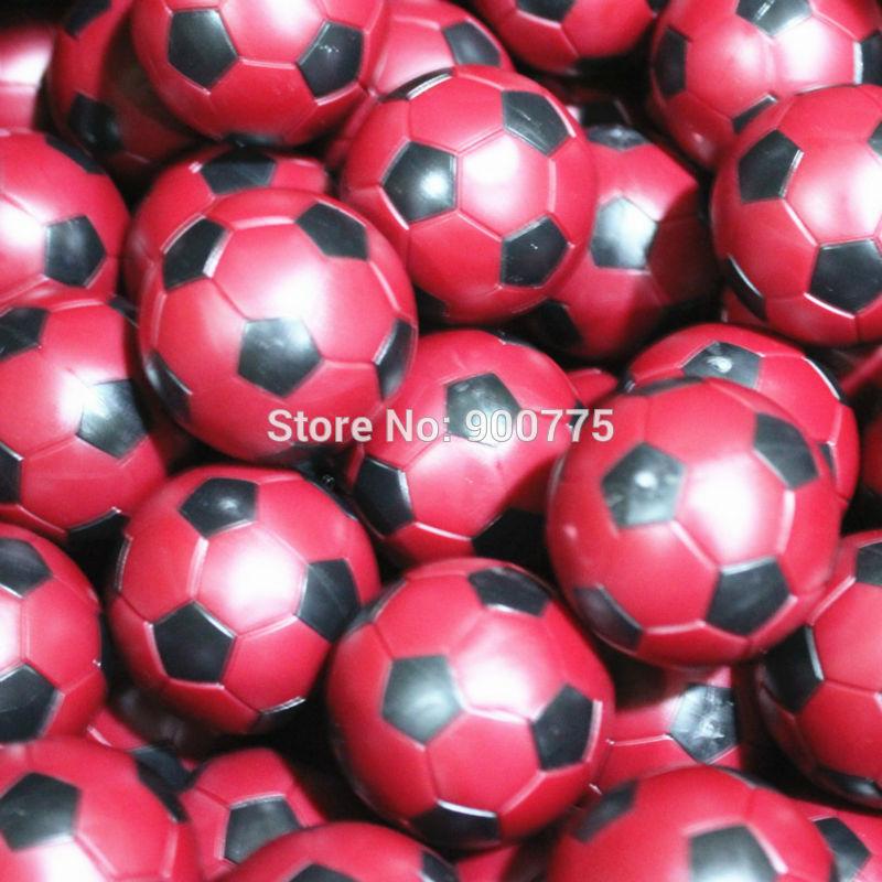 Футболдан жасалған доптар 36 мм Қызыл - Ойын-сауық - фото 4