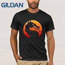 GILDAN Mortal Kombat Logo T Shirt