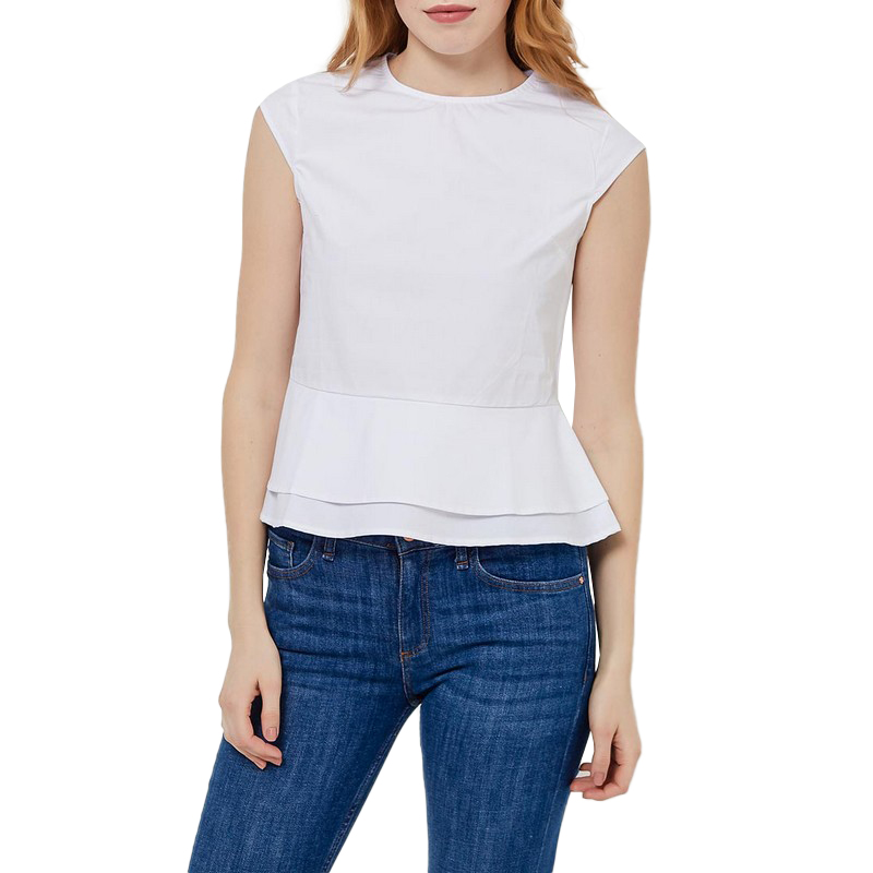 Blouses & Shirts MODIS M181W00627 woman blouse shirt blusas for female TmallFS blouses