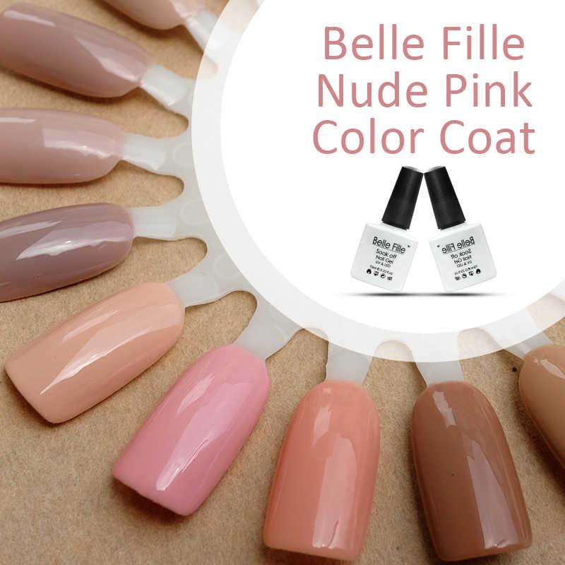 Aliexpress.com : Buy Belle Fille Gel Nail Polish UV Nude