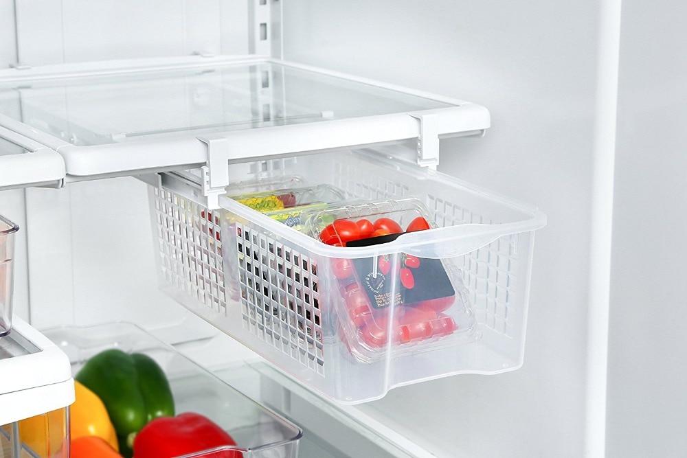 Kühlschrank Organizer : Kühlschrank mate schubladen kühlschrank ziehen bins snap auf