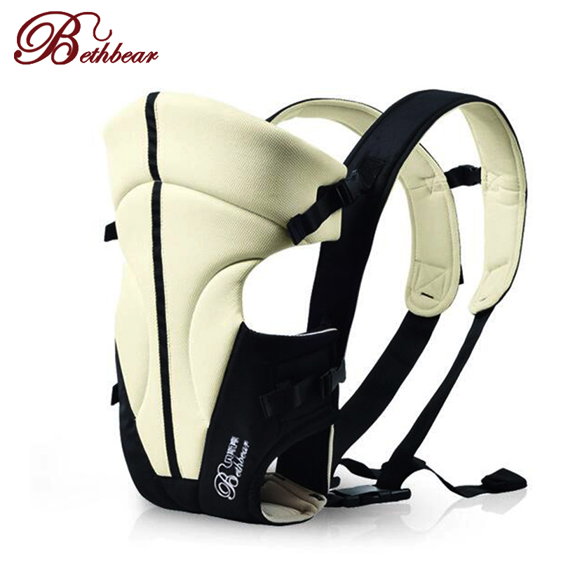 Bethbear 2-24 Months Multifunctional Front Facing Baby Carriers Infant Comfortable baby Sling Backpack Pouch Wrap Baby Kangaroo