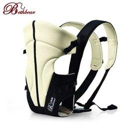 Bethbear 2-24 meses frente multifuncional frente de frente portadores de bebê infantil confortável estilingue mochila bolsa envoltório do bebê canguru