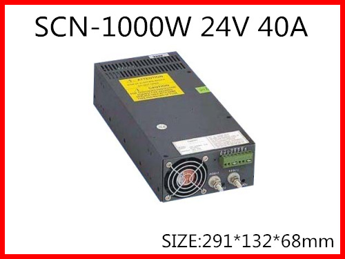 1000W 24V 40A  Single Output Switching power supply for LED Strip light  AC-DC S-1000-24