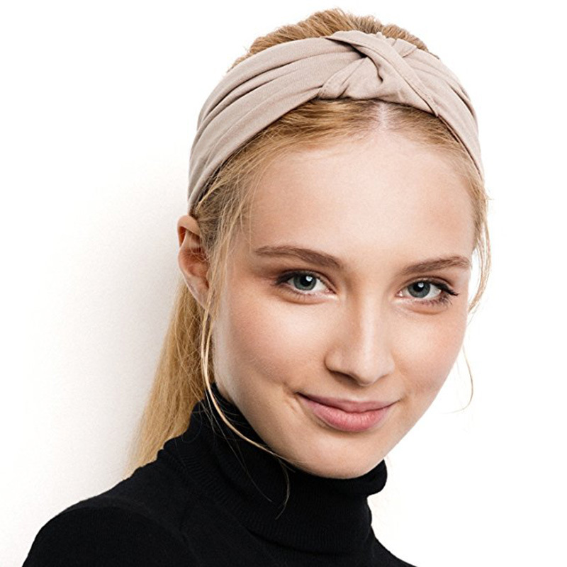 New Year Gift Brand Cross Turban Bandage Bandanas HairBands Headwrap