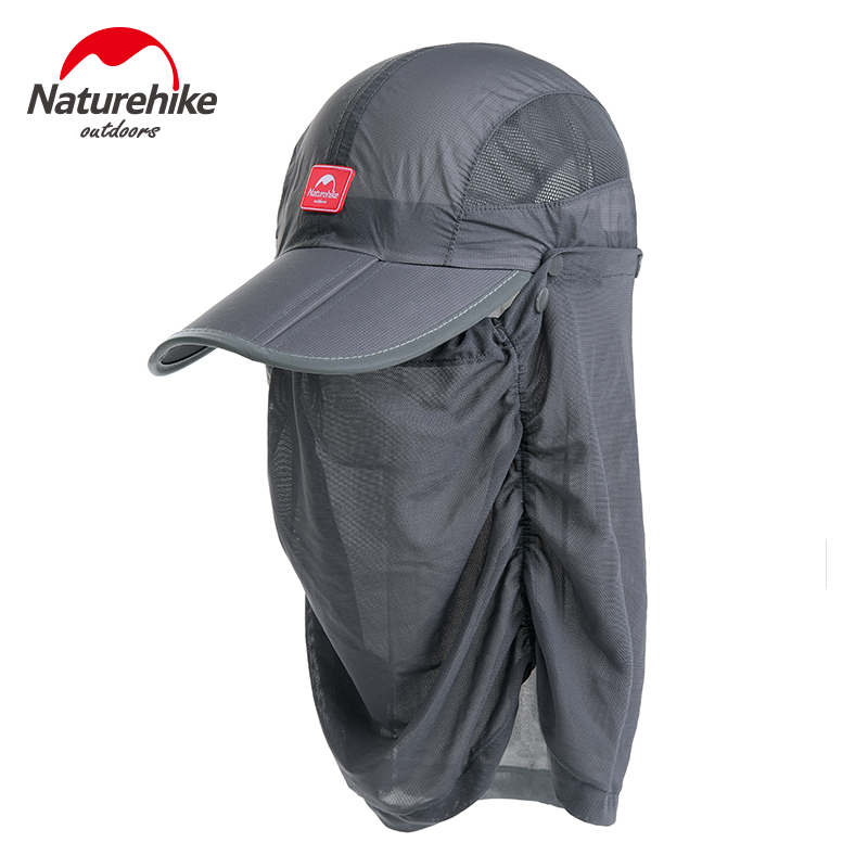 Nh uv protection quick drying hat man and women neck cover for Fishing neck cover