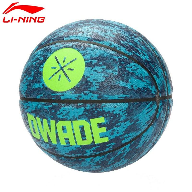 Li-Ning Уэйд серии G7000 Баскетбол Размеры 7 pu подкладка спортивные Баскетбол abql152 zyf191