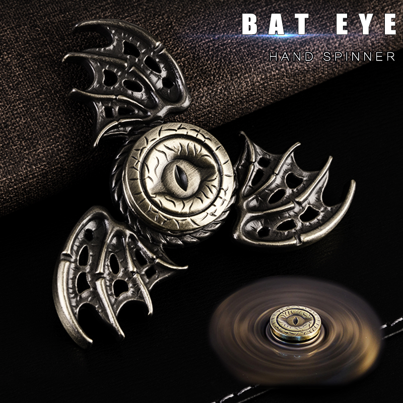 Batman Game Of Throne Metal Fidget Spinner Rainbow Magic Figet Spinners Hand Tri Spiner Dragon Eye Toys For Children Kids Gift In From
