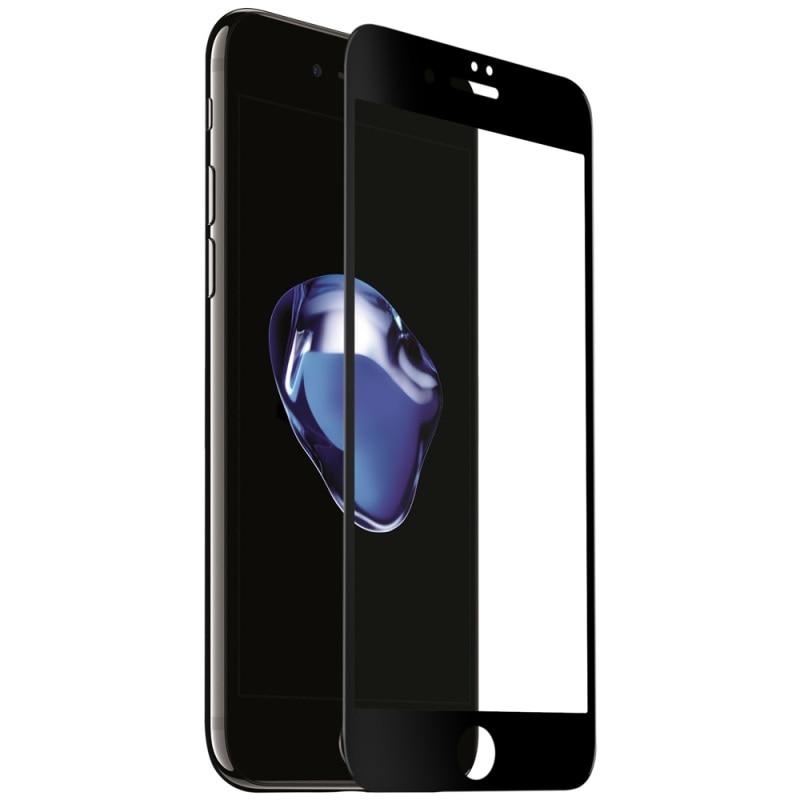 bilder für Momax für apple iphone 6 6s plus glänzend voller größe gebogene vollständige abdeckung gehärtetem glas bildschirm wache nanometer 0,2mm