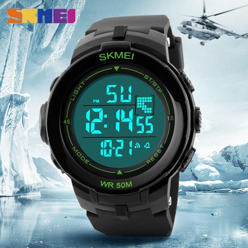 SKMEI Outdoor Fashion Men Sports Watches Chronograph Watch Alarm Waterproof Digital Wristwatches Relogio Masculino