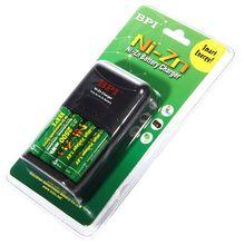 BPI 1.6 V NiMH Rechargeable Batteries Sur Le NO 5 AA2500mWh Avec Chargeur Pour Le Jouet Caméra