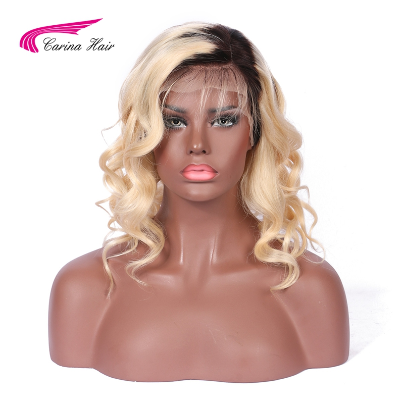 Carina Ombre 2 613 Color Lace Front font b Human b font font b Hair b