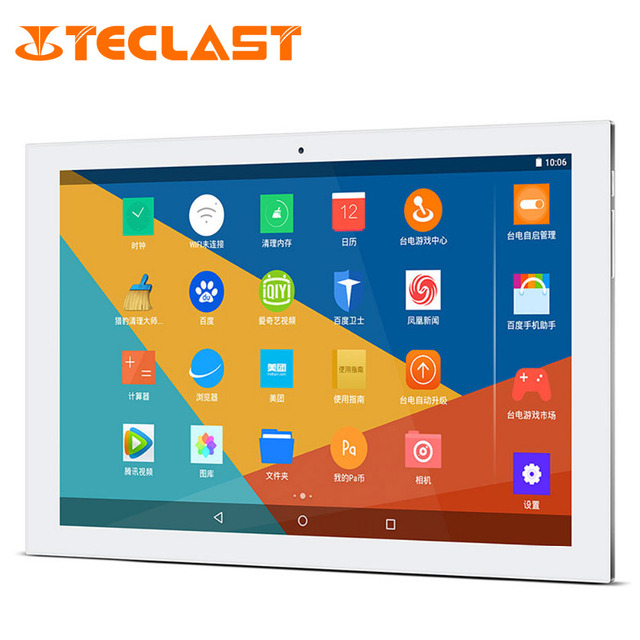 Teclast X10 Plus 10.1 дюймов Ultrabook Android 5.1 Intel Cherry Trail Z8300 64bit Quad Core IPS 1280*800 2 Г RAM 32 Г ROM Tablet шт