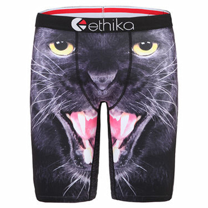 Mens Underwear Boxers Long Tight Ethika Underwear For Men Long Bulge Pouch Shorts Mens Shorts Casual Calzoncillos Boys Trunks