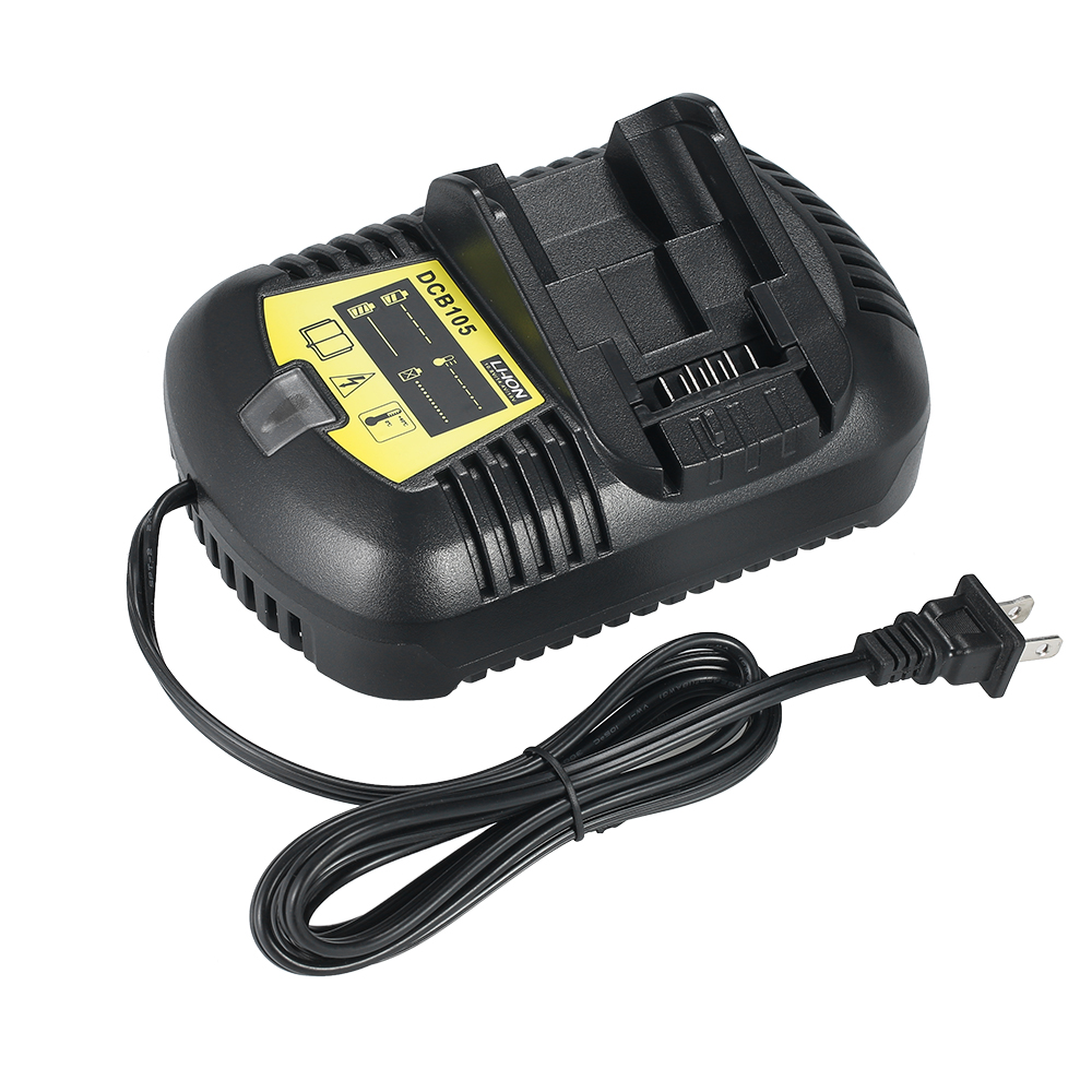 Battery Charger Replacement for DEWALT DCB105 12V-20V Multi-voltage Li-Ion Battery Electric Screwdriver Power Tools Accessories icharger 4010duo multi chemistry dc battery charger 10s 40a 2000w