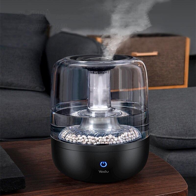 S040 humidificador de aire del hogar humidificador de tipo puro negro 4000ML difusor de Calidad de Agua purificada purificador de pulverización fácil de limpiar