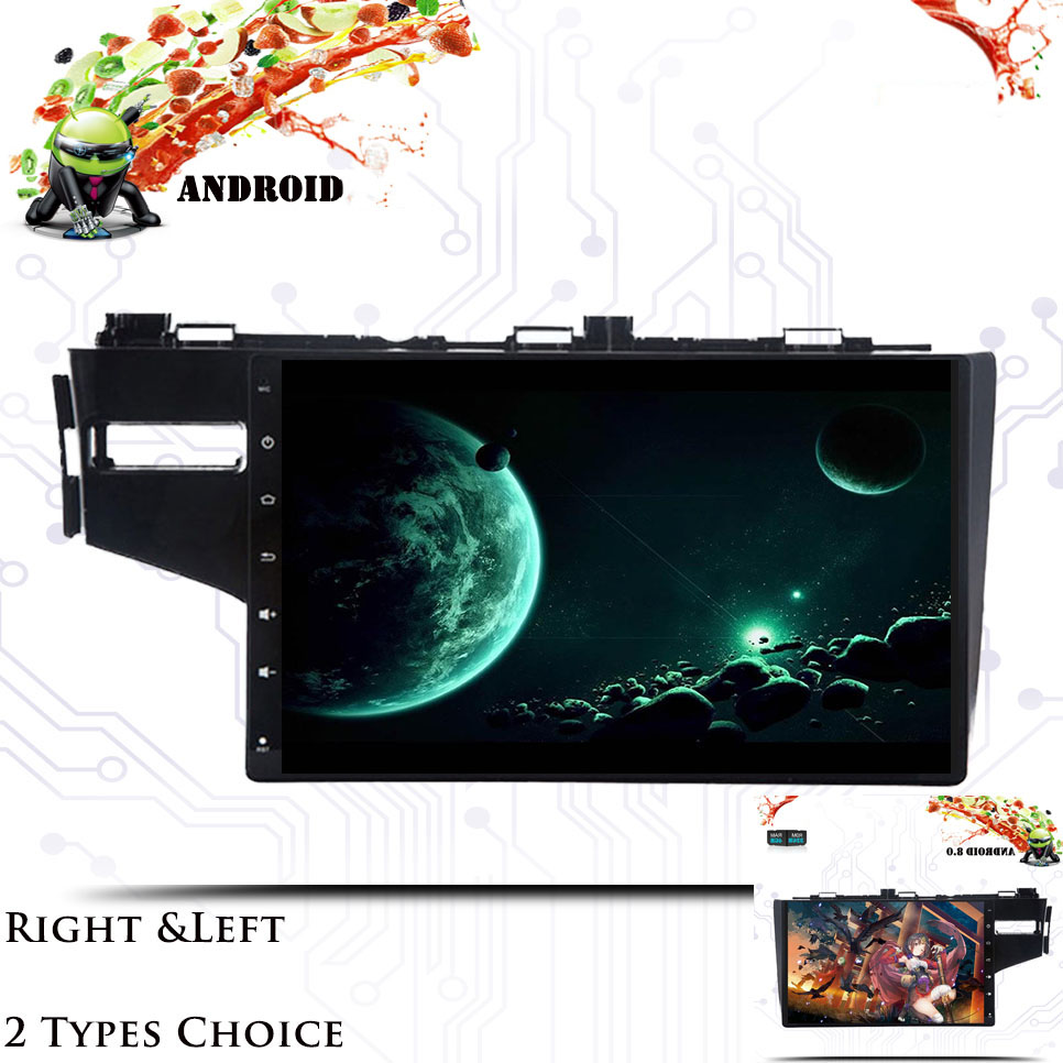 "10.1"" IPS Android 9.0 Car DVD Multimedia Player GPS For honda Fit jazz 2014 2015 16-18 audio radio stereo navigation Head Unit"