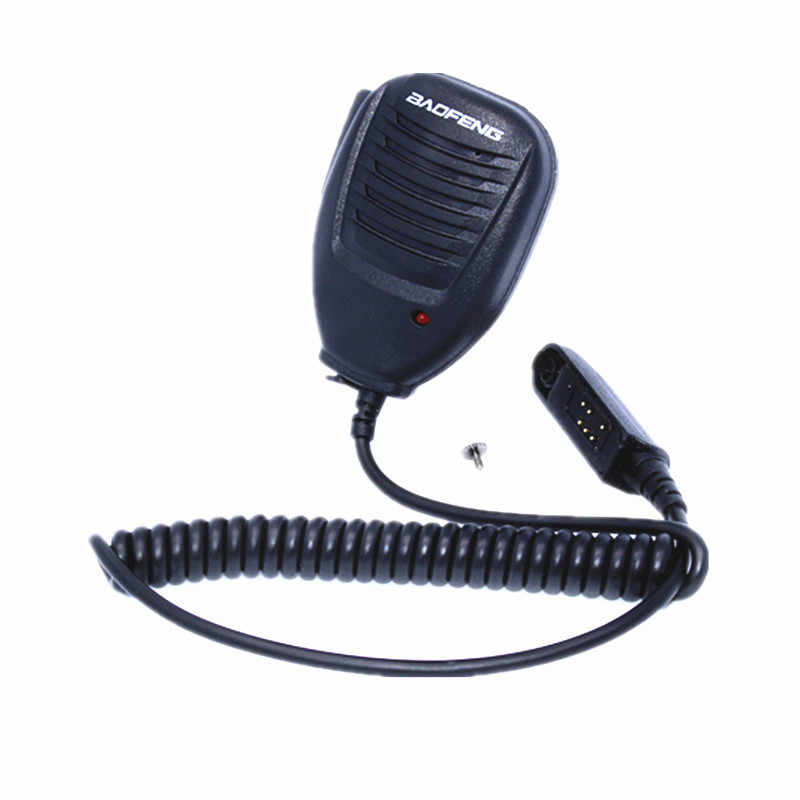 BAOFEN Wasserdichte Handheld Lautsprecher Mikrofon für Baofeng UV-XR A58 UV-9R Plus GT-3WP Two Way Radio Walkie Talkie