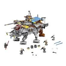 LEPIN 740Pcs Star Wars Captain Rex's AT-TE 75157 Building Blocks STAR WARS Toy 05032 Boys Toys Gift