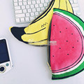 2016 New Fashion Kids Baby Hand-painted Watermelon Banana Decorative Snack Bag Mommy Diaper Bags Women Cosmetic Bag Pouch