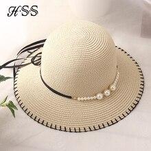HSS marca primavera y verano de las señoras sombrero de pescador sombrero  perla mujeres sombreros mar 091344de213