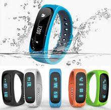 Hot Smartband E02 Health fitness tracker Sport Bracelet Waterproof Wristband for IOS Android Smart watch Band 4.0 Bluetooth