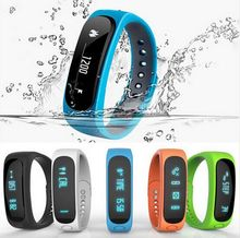 Hot Smartband E02 Health fitness tracker Sport Bracelet Waterproof Wristband for IOS Android Smart watch Band 4.0 Bluetooth
